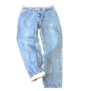 Levi's 550 Vintage High Rise Mom Wedgie Jeans 16L